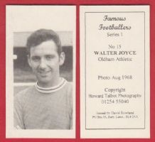 Oldham Athletic Walter Joyce